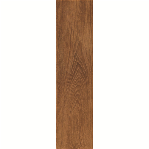Room150X600mm Coffe Wood Style Wood Vein Imitate Faux Teak Wood Tiles DH156R6A13-2