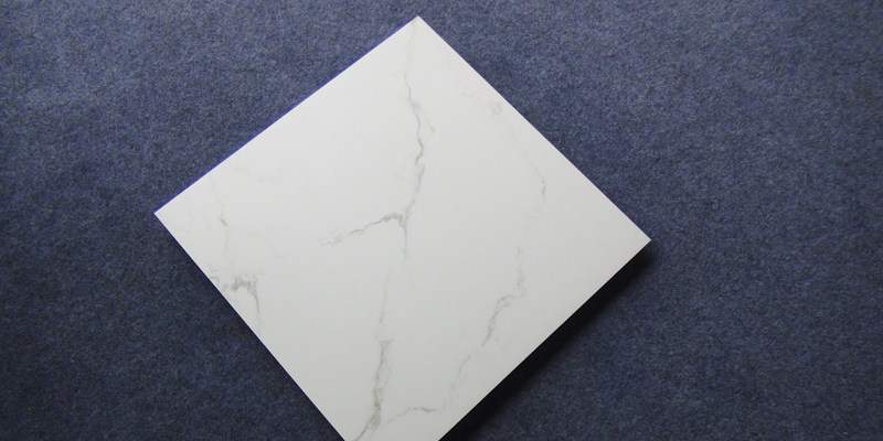 60x60 / 80X80 Carrara White Color Bathroom Floor Tile Soft Polished/ Polished Finish Marble Look Tiles SJ66G0C06T/M-8