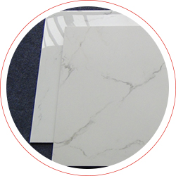 60x60 / 80X80 Carrara White Color Bathroom Floor Tile Soft Polished/ Polished Finish Marble Look Tiles SJ66G0C06T/M-14
