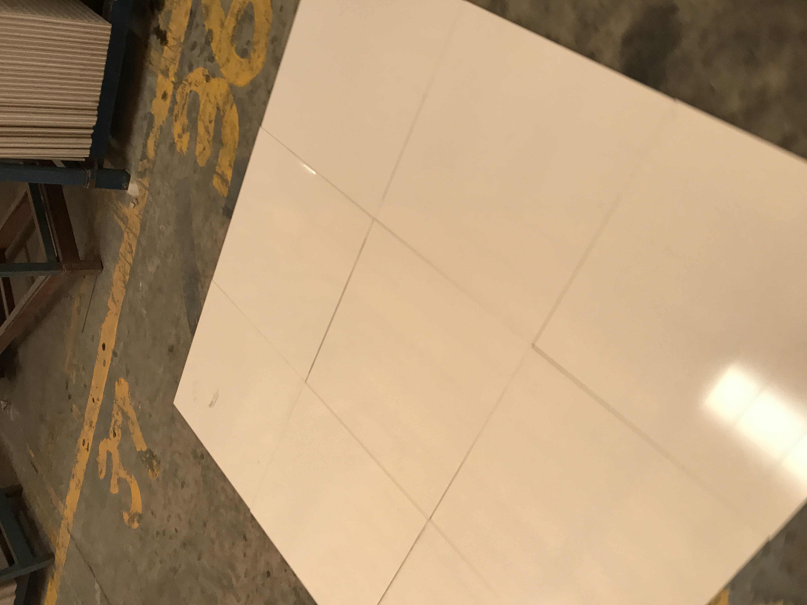 24''X24''/32''x32'' Light Grey Living Room Marble Look Floor Tile SJ66G0C21T/M-7