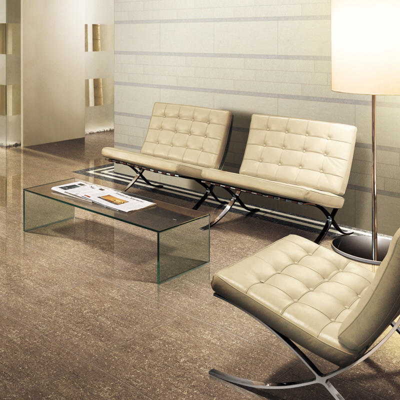 New three surfaces double loading polished porcelain tile