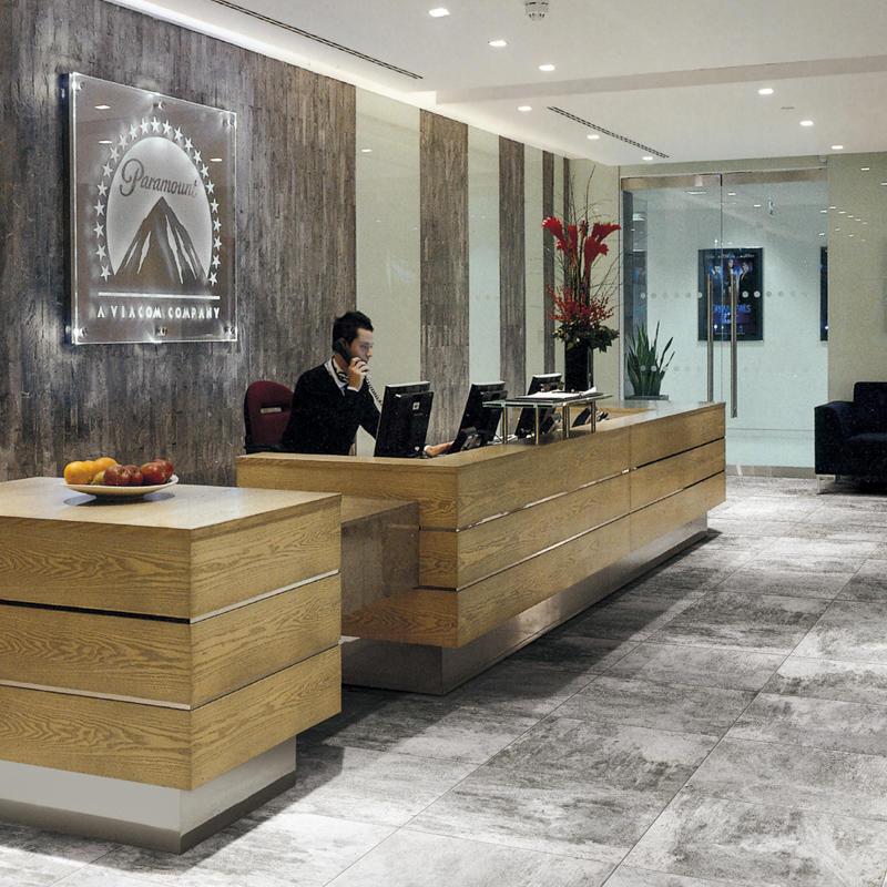 60x60cm Commercial Grade Grey Color Cement Rustic Glaze Porcelain Indoor Tile 1SP66H02W