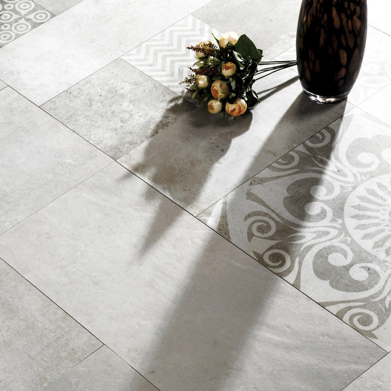 60x60cm Ink-jet Cement Series Porcelain Tile 1SP66H03W