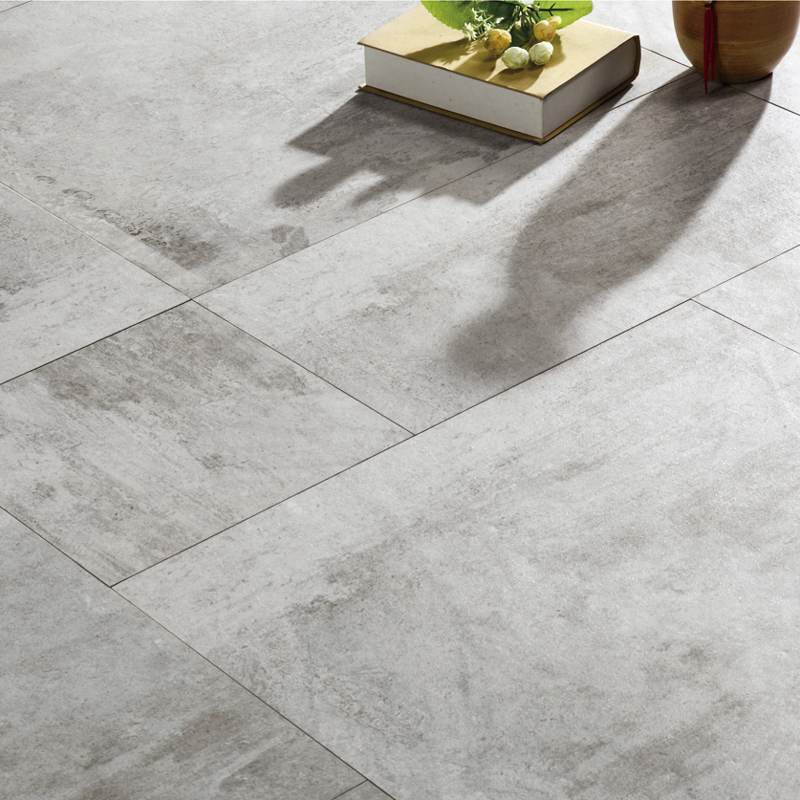 LONGFAVOR 60x60cm Ink-jet Cement Series Porcelain Tile RC66R0A05W Inkjet Cement Floor Tiles image13