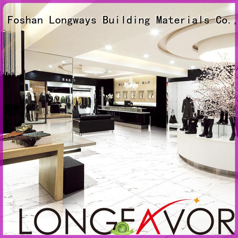 LONGFAVOR new design ceramic tile flooring excellent decorative effect Apartment