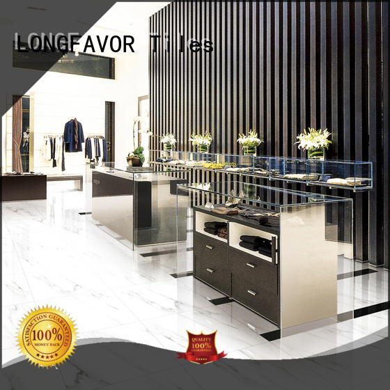 LONGFAVOR low price porcelain marble tile full Apartment