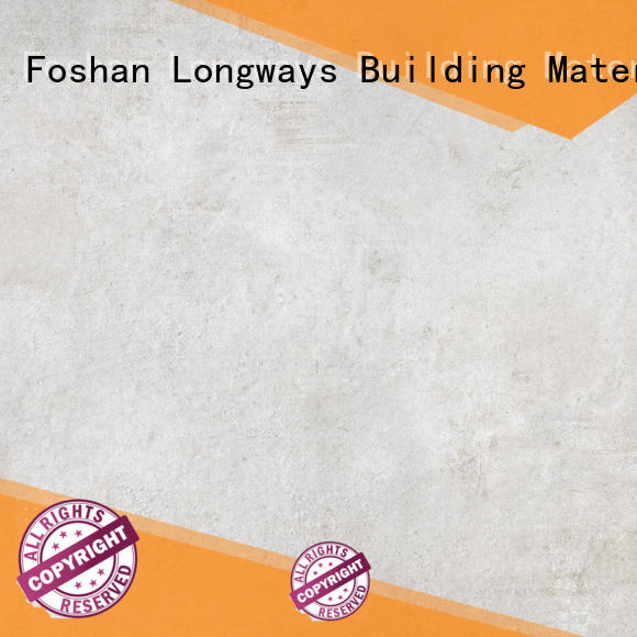 concrete cement series rustic kitchen floor tiles LONGFAVOR