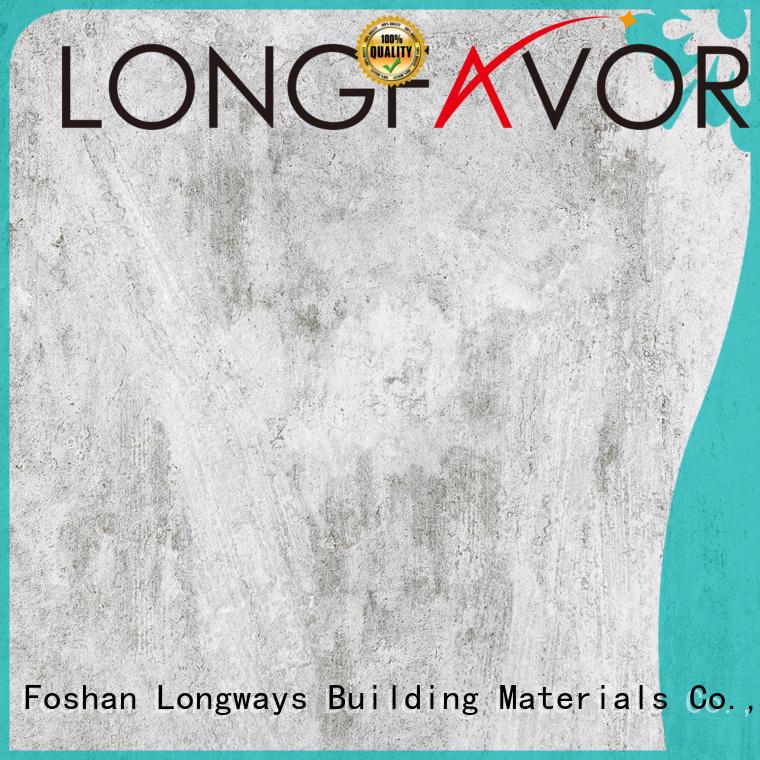 LONGFAVOR slip polished concrete tiles strong sense Shopping Mall