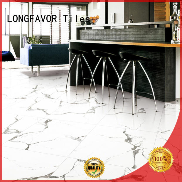 LONGFAVOR new design ceramic tile flooring hardness Apartment