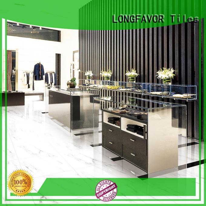 LONGFAVOR sj66g0c06tm glazed tiles excellent decorative effect School