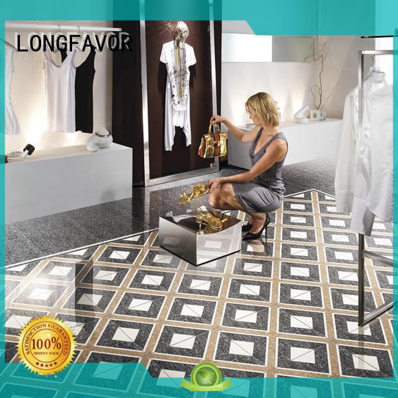polish bathroom tile loading Shopping Mall LONGFAVOR