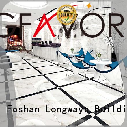 non 24x24 rc66r0b21 polished porcelain tiles LONGFAVOR Brand