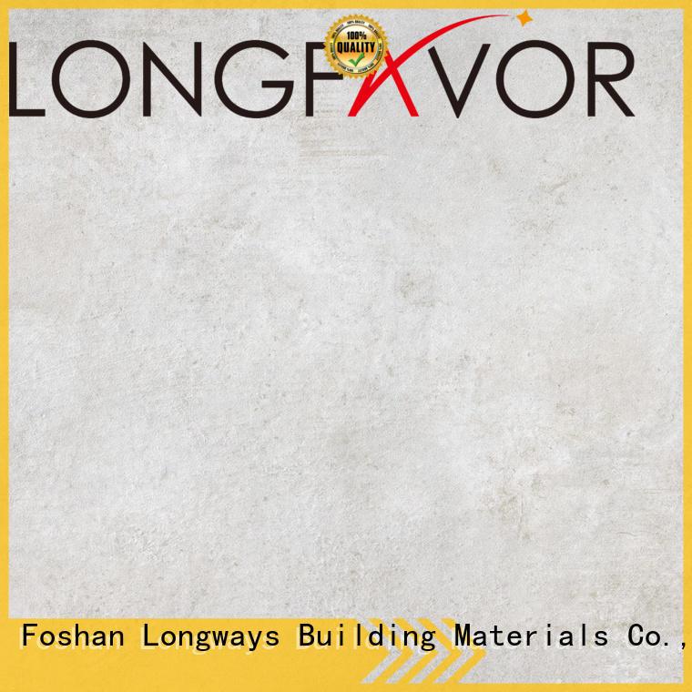 LONGFAVOR Brand vitrified grey series tile cement grade