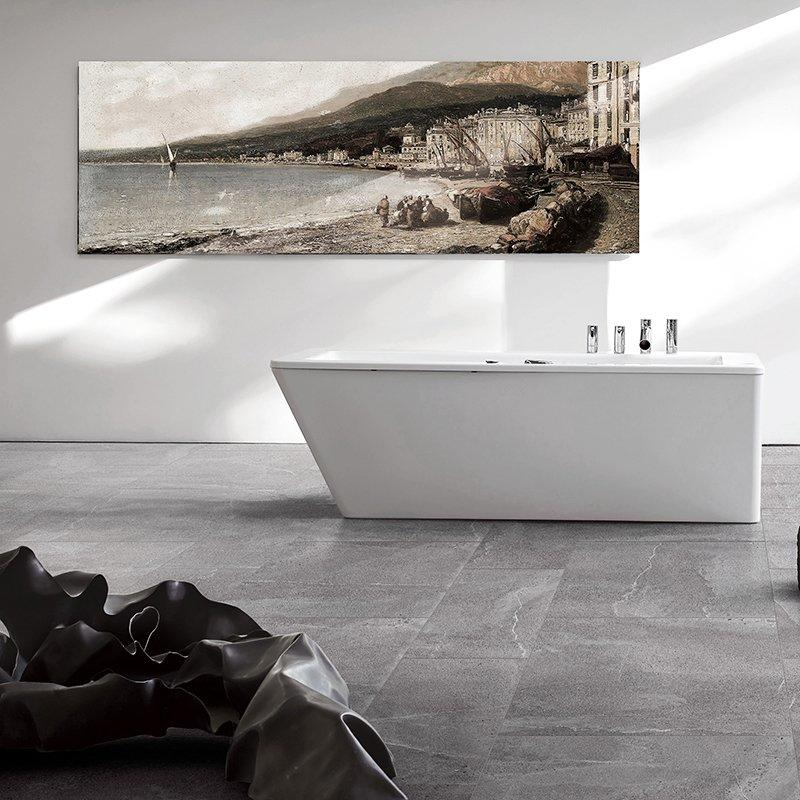 matera rock Dark Grey Full Body Porcelain Tiles RC66R0F63W