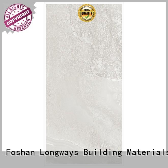 LONGFAVOR Brand snow stripes yellowdark custom light grey tiles