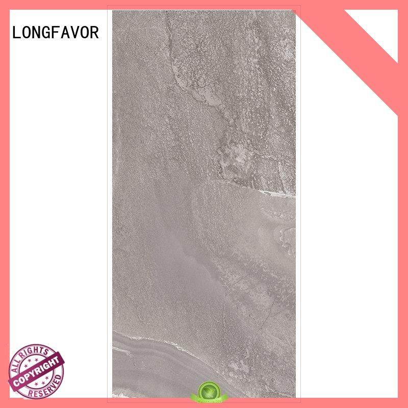 grey white porcelain tile rock LONGFAVOR