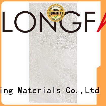 LONGFAVOR light grey tiles brown body stripes