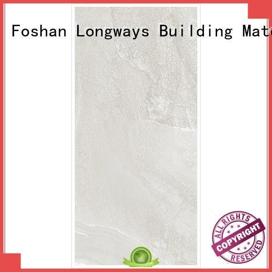 light grey tiles brown full body porcelain LONGFAVOR