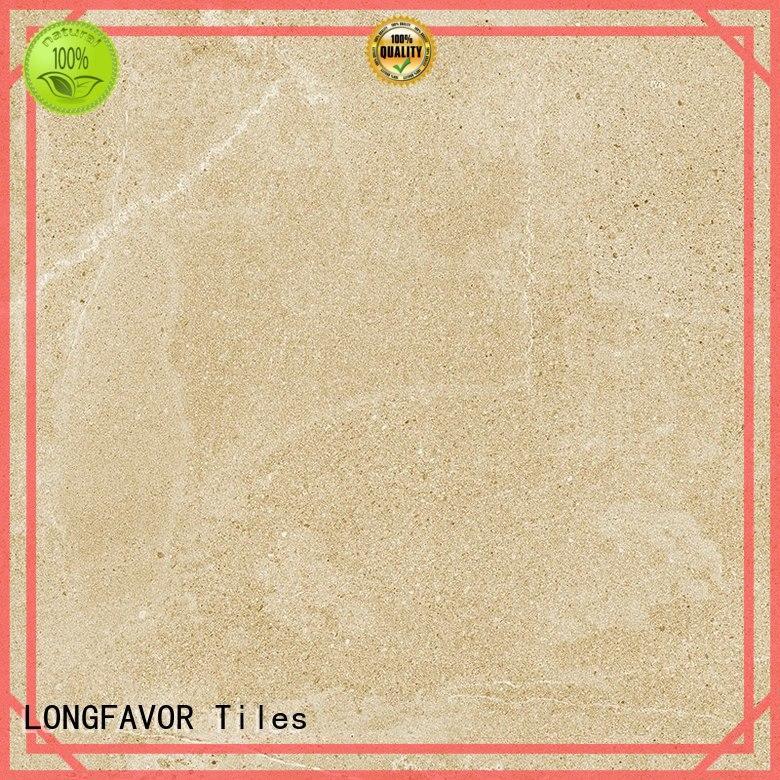 LONGFAVOR full dark porcelain tile high quality Living room