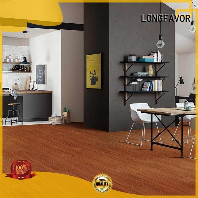 LONGFAVOR brown outdoor wood tiles supplier Apartment