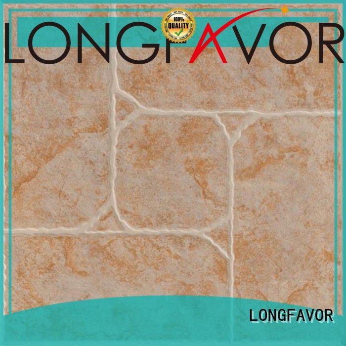 LONGFAVOR ourdoor 300x300mm Ceramic Floor Tile excellent decorative effect Apartment