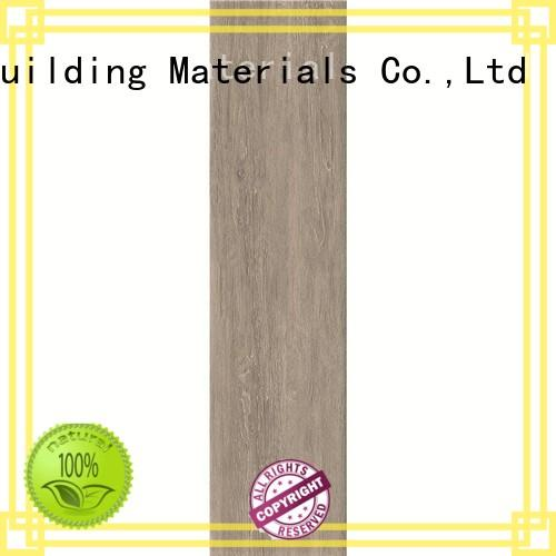 LONGFAVOR low price wood look tile cost ODM Hotel