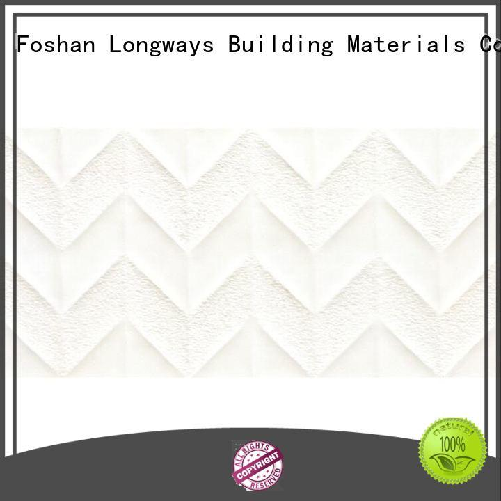 LONGFAVOR carrara Tile 300x600mm Ceramic Wall Tile for wholesale Coffee Bars