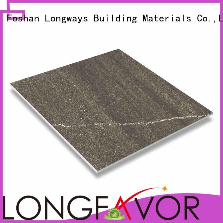 LONGFAVOR cascal design rustic floor tiles multi-color Bank