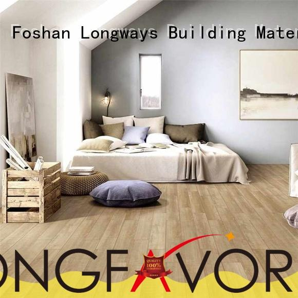 LONGFAVOR low price outdoor wood tiles supplier Apartment