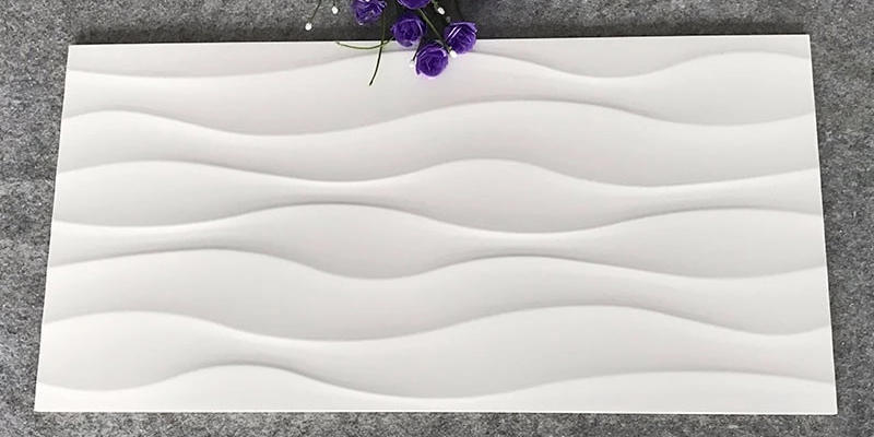 LONGFAVOR Ceramic Tiles 300x600mm Ceramic Wall Tile white Walls-3