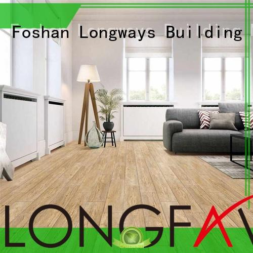 ceramic tile flooring that looks like wood beigebrown classical LONGFAVOR Brand