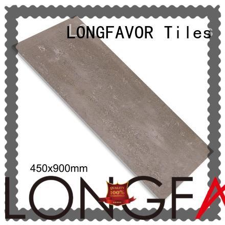 LONGFAVOR products 450x900 Rustic Porcelain Tiles oem Super Market