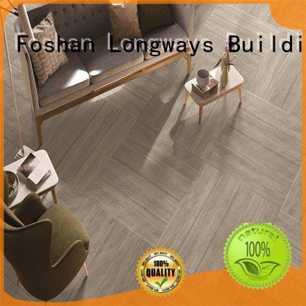 oak wood effect floor tiles floortile ceramic LONGFAVOR Brand