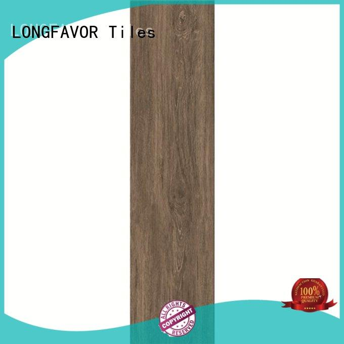 LONGFAVOR suitable white wood look porcelain tile dh156r6a03 airport