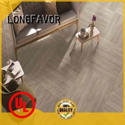 LONGFAVOR dark porcelain hardwood tile free sample airport
