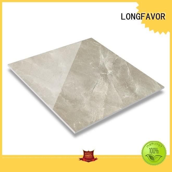 LONGFAVOR natural marble tile sizes high quality Super Market