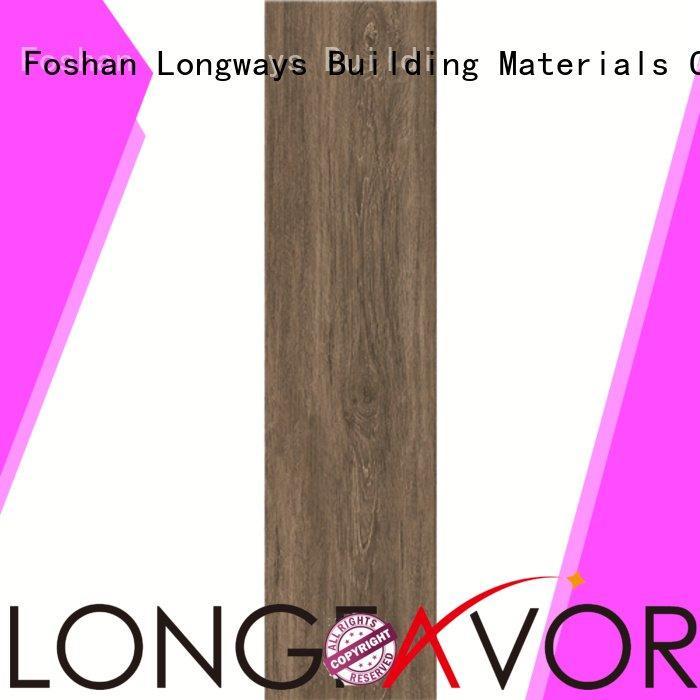 oak wood effect floor tiles 15x60 wood look tile planks LONGFAVOR Brand