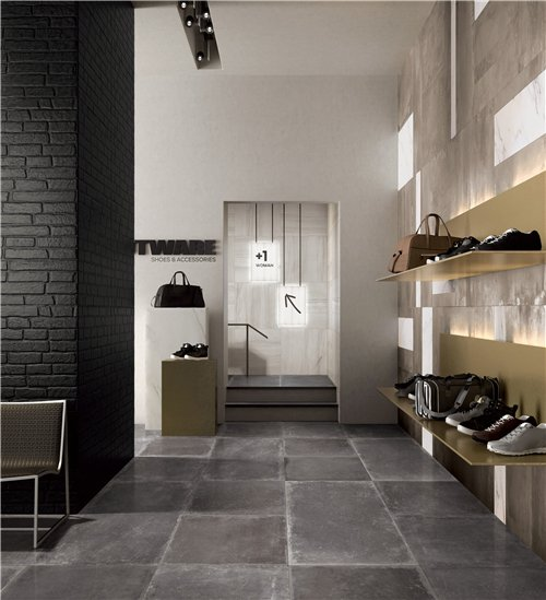 LONGFAVOR retro cement grey Porcelain  Tiles RC66R0C22M Industrial Style Full Body Tiles image20