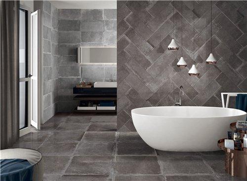 LONGFAVOR retro cement grey Porcelain  Tiles RC66R0C62M Industrial Style Full Body Tiles image19