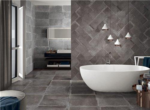 retro cement grey Porcelain  Tiles RC66R0C62M