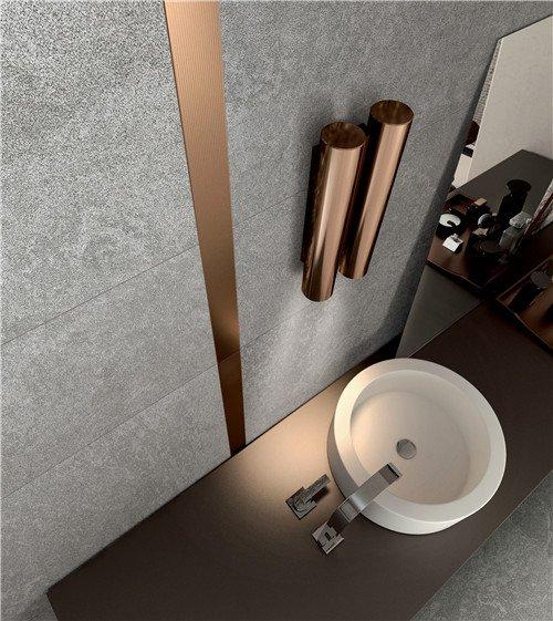 LONGFAVOR Natural stone Light Grey Full Body Porcelain Tile RC66R0E22W Natural Stone Style Full Body Tiles image12