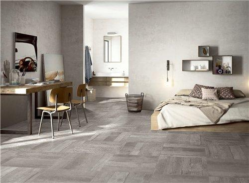 Wooden Grey Full Body Porcelain Tile RC66R0D21W