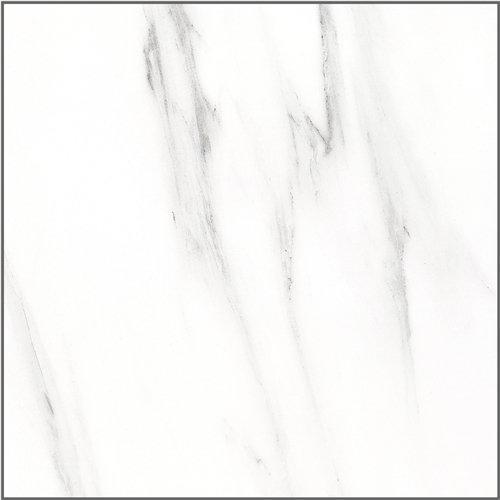 Inkjet Snow White Marble Series 600x600mm Full Polished Glazed Porcelain Tiles SP6PT83T