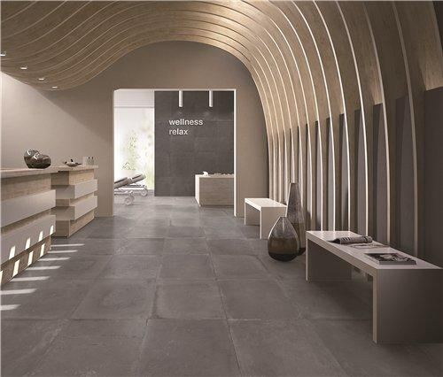 60x60cm Grey Concrete Tile Outdoor cement Tile vitrified outdoor floor tile HS60081
