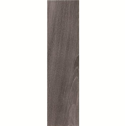 150X600mm Dark Grey Wood-look Ceramic Tile DH156R6A02