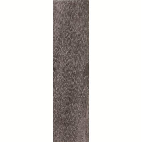 150X600mm Dark Grey Wood-look Ceramic Tile DH156R6A02