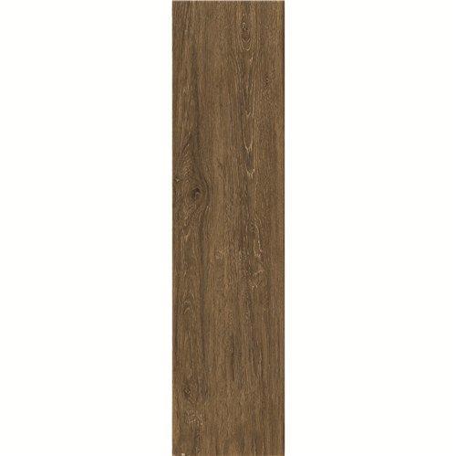 Coffe Flooring 150X600mm  Wood-look Ceramic Tile DH156R6A04