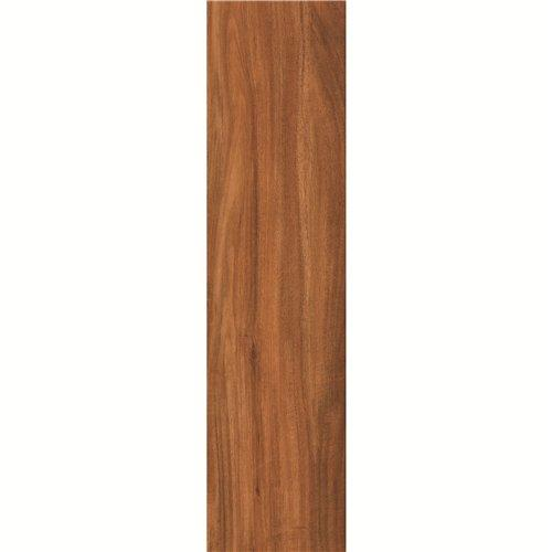 150x600mm Wall/ Floor Brown Wooden Ceramic Tile DH156R6A10