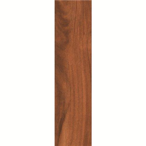 Matt Floor 150X600mm Brown Wood-look Ceramic Tile DH156R6A11