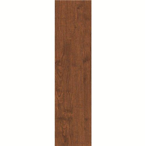 150x600mm Matt Brown Color Wood-look Ceramic Tile DH156R6A12